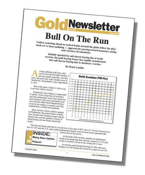 Brien Lundin –  Gold Newsletter
